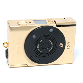 Canon IXY golden camera w/ Zoom lens 4.5-6.2/24-48mm