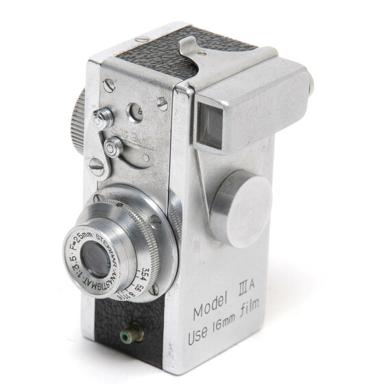 Steky Model IIIA Sub-Miniature Spy Camera for 16mm film