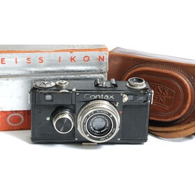 Contax I camera with original box in very nice condition