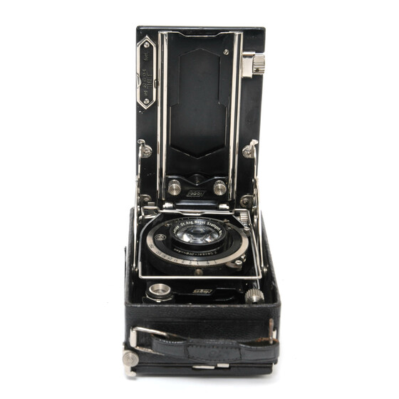 Nagel No.18 plate folding camera w. Nagel Anastigmat 4,5/10,5cm lens