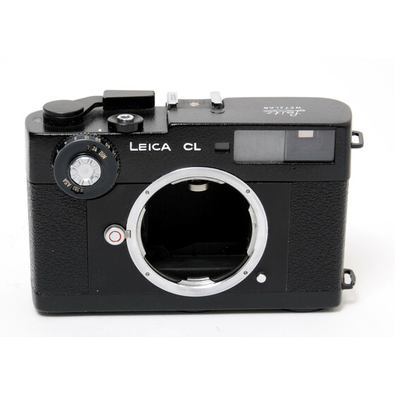 Leica CL camera body microscope lack painted 35mm Rangefinder case and strap