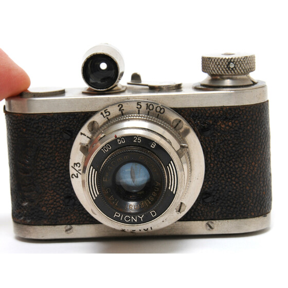Vintage Boltax I camera Picny D subminiature camera w. Picner Anstigmat 4.5/40mm