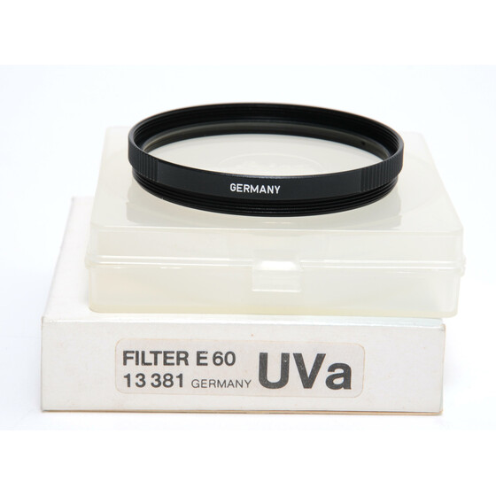 Leica Filter E60 UVa original boxed 13381 mint condition