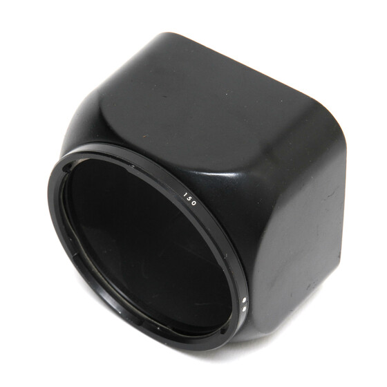 Hasselblad B50 lens hood for 150mm lenses