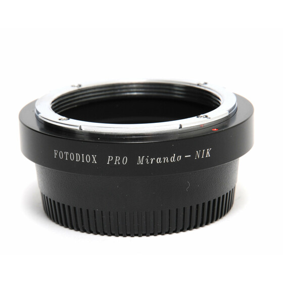 Fotodiox Pro Miranda - Nik Lens Adapter Mint Condition