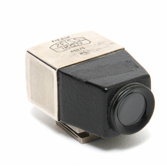 Zeiss Ikon Viewfinder 2,8cm black/nickel 432/3 for Contax