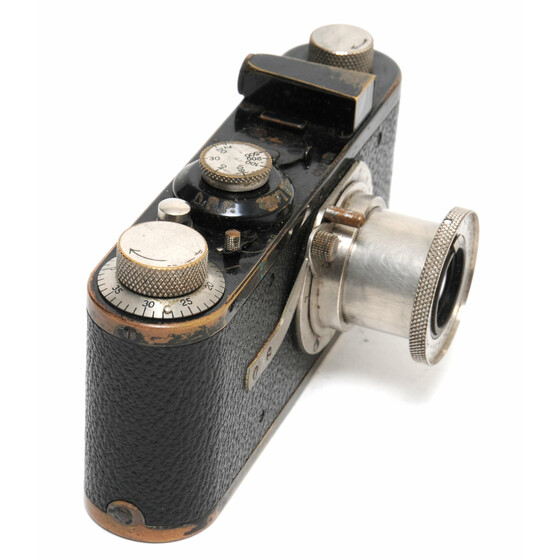 Leica IA camera close focus Export Version in feet w. Elmar 3,5/50mm