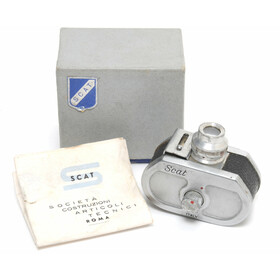 Scat miniature spy camera made in Italy original boxed w....