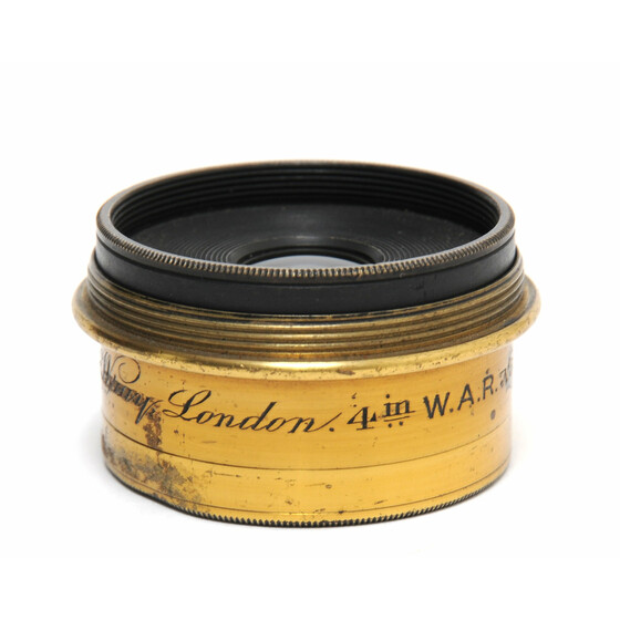 Wray London vintage Brass Lens 4 Inch W.A.R.