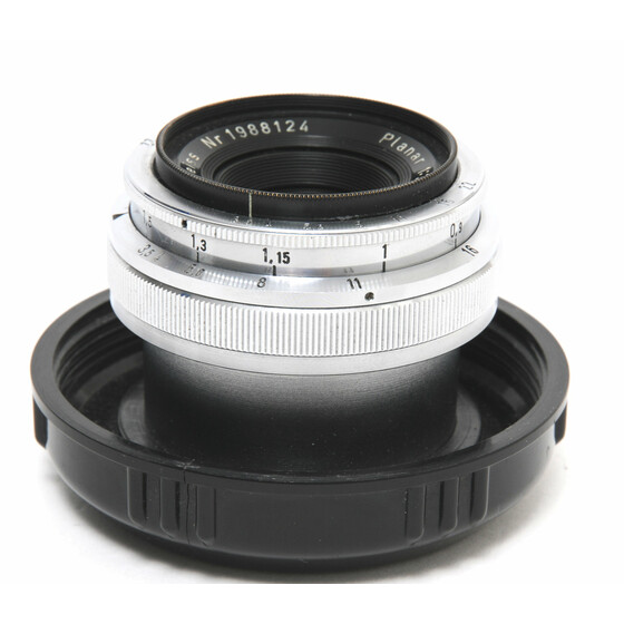 Zeiss West for Contax IIIA  Planar 3,5/35mm in plastic case
