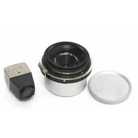 Zeiss Jena Tessar 1:8/2,8cm  for Contax I Black/Nickel...