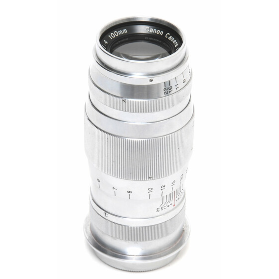 Canon for Leica Screw Mount Serenar 4/100mm early version coupling for Leica Screw