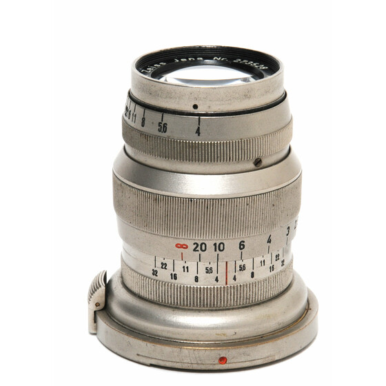 Zeiss Jena for Contax I Triotar 4/8,5cm rare Nickel version