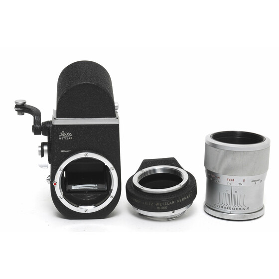 Leitz Leica Visoflex M Model 2 with OUBIO and Focus Mount