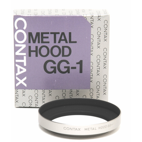Contax Metal Hood GG-1 Mint condition original boxed