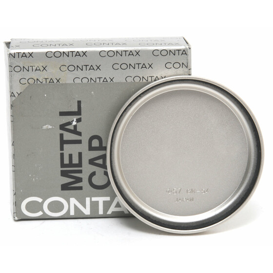 Contax Metal Lens Cap 57GK-54 original boxed Mint Condition