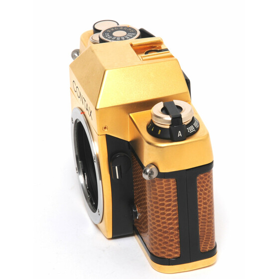 Contax RTS Gold body NEW boxed! NOT EDITION!
