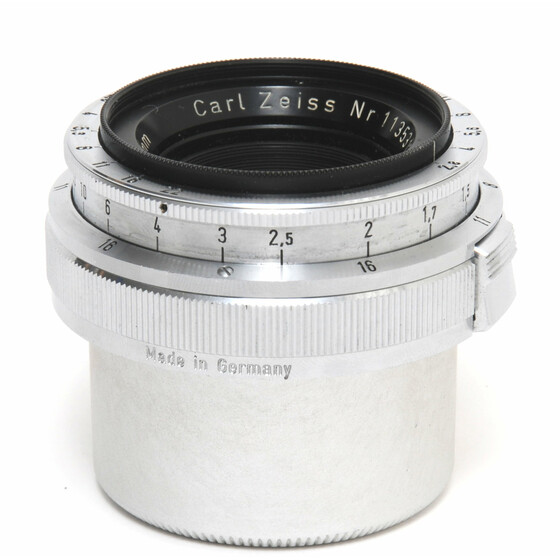 Zeiss West for Contax IIA  Biogon 2,8/35mm clean w. caps