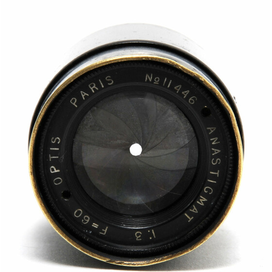 Optis Paris 3/60mm Anastigmat Movie lens for full frame RARE