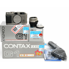 Contax G1 150 Years Carl Zeiss Edition NEW boxed w.Biogon...