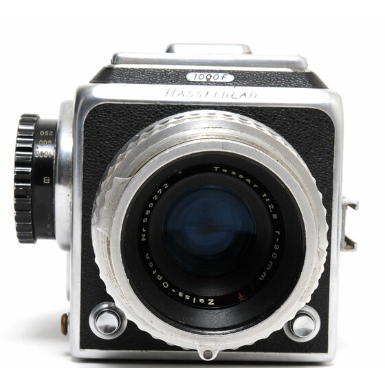 Hasselblad 1000F boxed w. RARE Zeiss-Opton 2.8/80mm Tessar