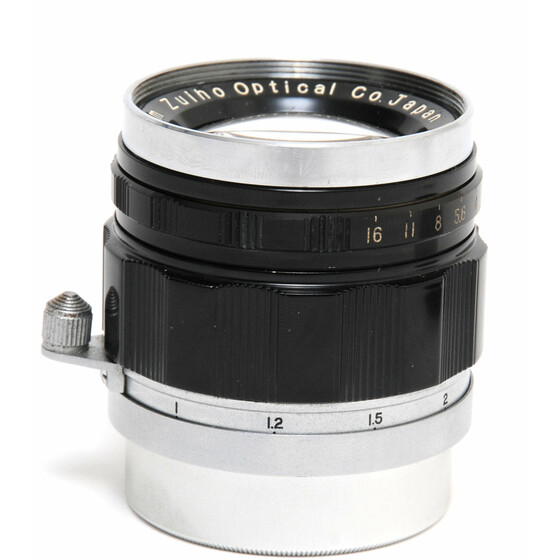 Zuiho Optical 1.9/50mm Honor Type 1. Rangefinder coupling for Leica