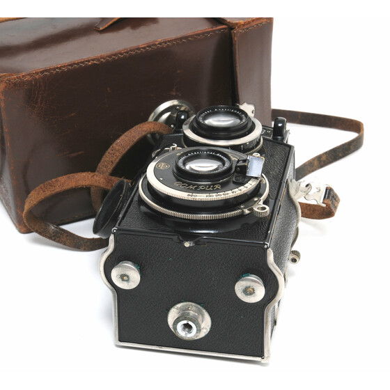 Voigtlander Superb TLR  w. Anastigmat Skopar 3,5/7,5cm and case