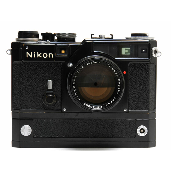 Nikon SP black Motor one of first black paint Cameras No.6200041