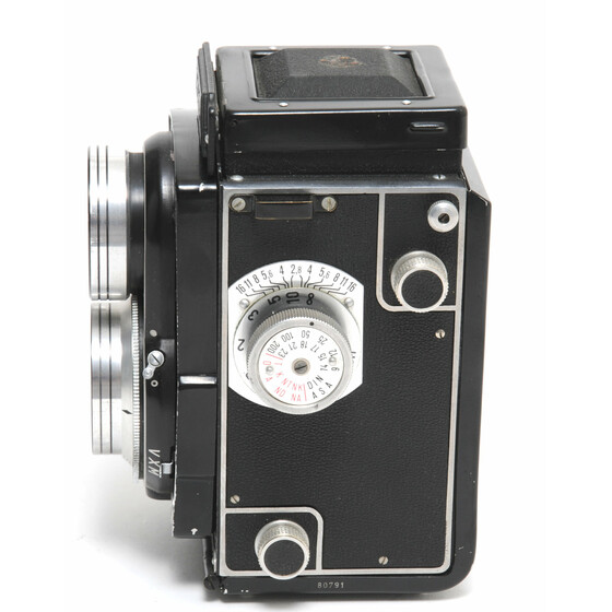 Lipca Rollop TLR Camera w. 2.8/80mm Ennit for 120 Film