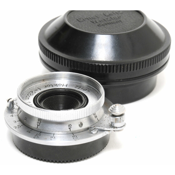 Leica 6.3/2.8cm Hektor Chrome PRE-War uncoated CLEAN
