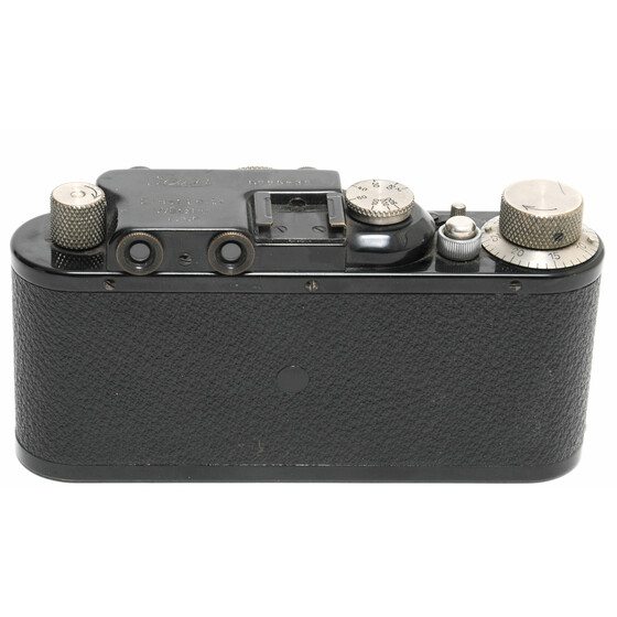 Leica II black with Elmar 5cm lens ca.1933 Y. in clean working condition
