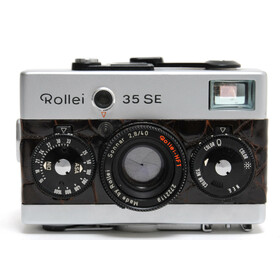 Rollei 35 SE Prototype with Crocodile synthetic leather