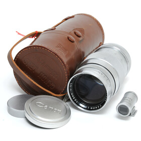 Canon Lens 3.5/135mm for Leica Screw Mount chrome silver...