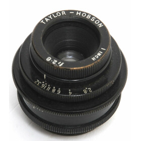 Taylor & Hobson 2.8/1 inches for M25, C-mount