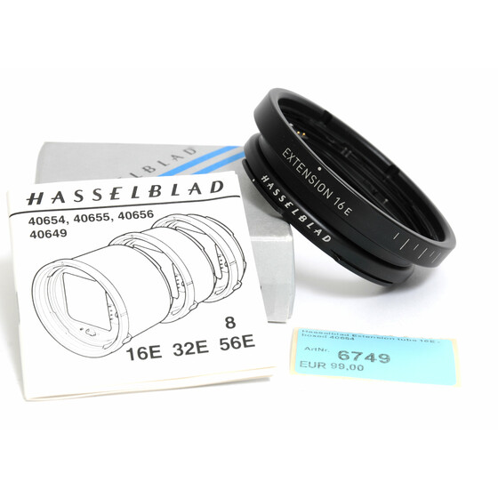 Hasselblad Extension tube 16E -  boxed 40654
