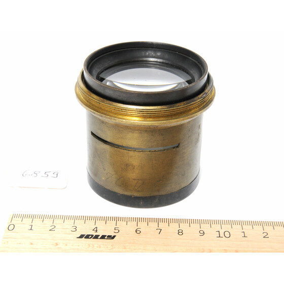 Vintage Brass lens  no name