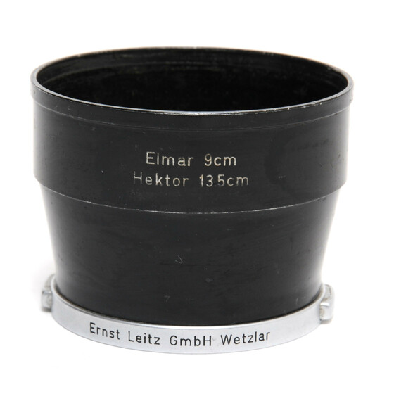Leica Leitz Metal lens hood for Elmar 9 cm and Hektor 13,5 cm