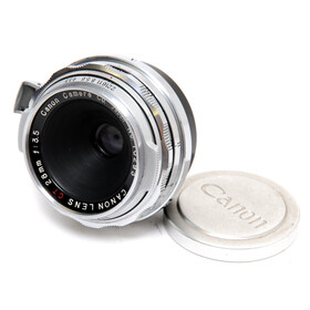 Canon Vintage Lens for Contax RF 3.5/28mm CT Canon Lens...