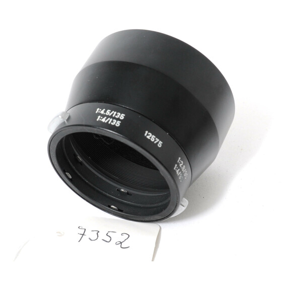 Leitz Leica metal lens hood 12575 IUFOO for  4/135 4,5/135 2,8/90 4/90