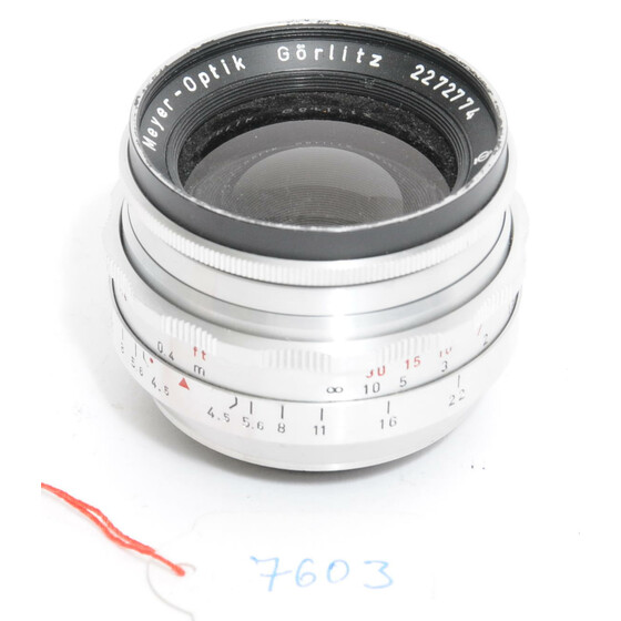 Meyer-Optik Görlitz lens  Primagon 4.5/35mm  chrome